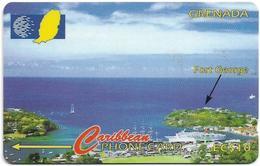 Grenada - C&W (GPT) - Fort George, 51CGRB, 1996, 16.000ex, Used - Grenade