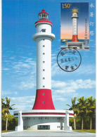 Spratly Islands.New Yongshu Reefs Lighthouse In Disputed South China Sea.,maximum-card Year 2016, With Explanation - Leuchttürme