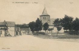 Montigny   Cachet Convoyeur Train Cosne à Bourges Semeuse - Other Municipalities