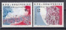 Albania 1989 - Bicentenaire De La Revolution Francaise, Mi-Nr. 2403/04, MNH** - Albanien
