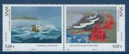 """SPM YT 1053 & 1054 Paire """" Peintres De La Marine """" 2012 Neuf** - St.Pierre & Miquelon"""