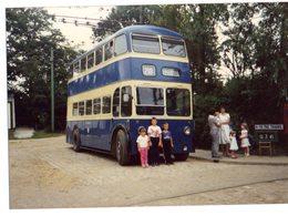 35mm ORIGINAL PHOTO BUS UK STALYBRIDGE DOUBLE DECKER - F171 - Photographs
