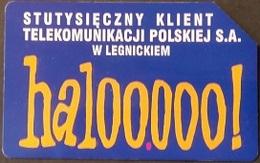 Telefonkarte Polen - Werbung TP - Polen
