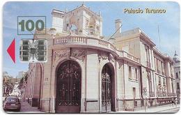 Uruguay - Antel - Palacio Taranco - TC 014a - 05.1998, 60.000ex, Used - Uruguay