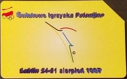 Telefonkarte Polen - Sport - Olympia - Polen