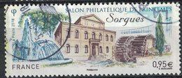 France 2018 Oblitéré Rond Used Salon Philatélique De Printemps Sorgues Y&T 5210 SU - Oblitérés