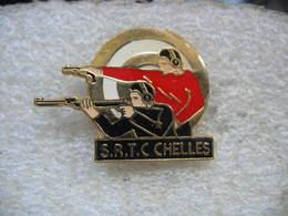 Pin's Club SRTC De CHELLES (Société Régionale De Tir De Chelles) - Boogschieten