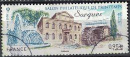 France 2018 Oblitéré Rond Used Salon Philatélique De Printemps Sorgues Y&T 5210 SU - Gebraucht