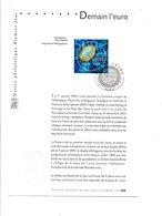 DOCUMENT NOTICE FDC 2001 DEMAIN L'EURO - FDC
