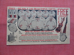 Free Nearly 100 Gifts       Wilson Chemical Co Tyrone Pa.   -ref    3573 - Advertising