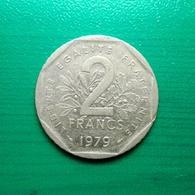 2 Francs Münze Aus Frankreich Von 1979 (sehr Schön) IV - I. 2 Francs