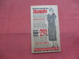 Spanish Lake Bargain $ 2.89  Bernard Hewitt & Cp  Chicago Il -ref    3573 - Publicidad