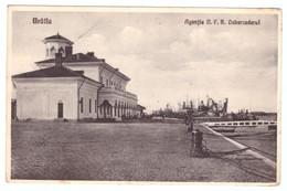 Romania Braila Agentia N.F.R Debarcaderul Expediat Nicoresti Tecuci - Rumänien