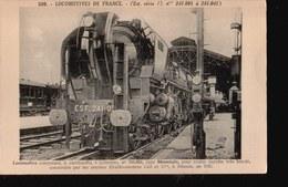 LOT074.....5 CPA LOCOMOTIVES DE FRANCE - 5 - 99 Postcards