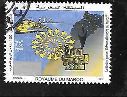 TIMBRE OBLITERE DU MAROC DE 2012 N° MICHEL 1808 - Marruecos (1956-...)