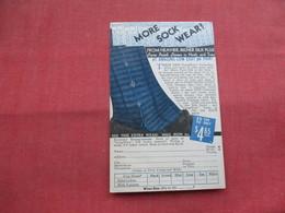 More Sock Wear  Economy Headquarters  Warren Pa.     -ref    3573 - Advertising