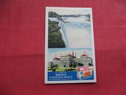 Nabisco Shredded Wheat  Niagara Falls Ny        -ref    3573 - Advertising