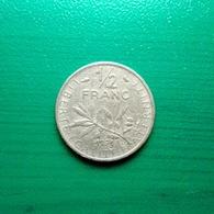 ½ Franc Münze Aus Frankreich Von 1971 (schön) - Frankreich