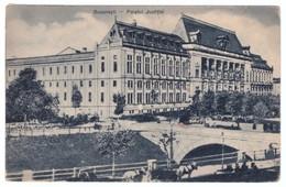 Romania Bucuresti Palatul Justitiei 1937 - Rumänien