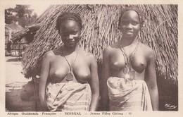 Afrique Occidentale Francaise-   SENEGAL, Jeunes Filles Céreres - Süd-, Ost-, Westafrika