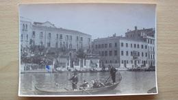 VENETO FOTO D'EPOCA VENEZIA 1925 GITA IN GONDOLA  MISURA CM. 17x12 - Foto