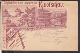 Originalbilder A.der Umgegend Von Kiaotschau - China