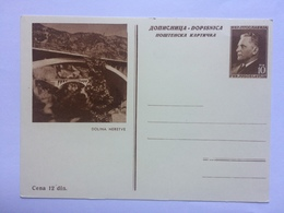 YUGOSLAVIA Illustrated PPC Postkarte - Dolina Neretve - 1945-1992 République Fédérative Populaire De Yougoslavie