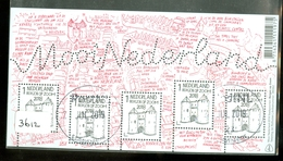 Nederland * NVPH Nr  3612 * MOOI NEDERLAND * BERGEN Op ZOOM *  BLOK BLOC BLOCK * POSTFRIS GESTEMPELD - Used Stamps