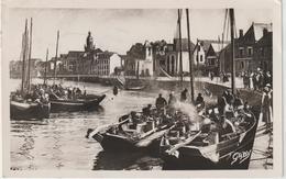 Loire  Atlantique   : LE  CROISIC  : Vue  Du Port , Bateaux  De   Pêche 1951 - Le Croisic