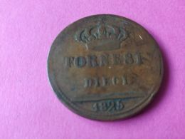 10 Tornesi 1825 - Regional Coins