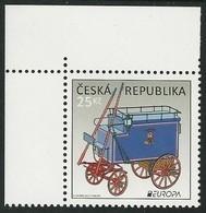 """CHECA, REP./  CZECH REP./ TCHÈQUE REP./ TSCHECHISCHE REP. - EUROPA 2013 - """" POSTAL VEHICLE""""-  SERIE De 1 V. - 2013"""