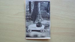 VENEZIA GIULIA TRIESTE FOTO D'EPOCA CARTOLINA AUTOMOBILE GIOCATTOLO 1941 - Foto