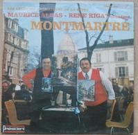 Les Célèbres Animateurs De La Butte Montmartre - Maurice Albas - René Rigat - 33T Dédicacé Par R. Rigat - Humour, Cabaret