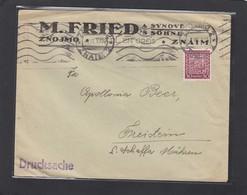 BRIEF VON ZNOJMO AN APOLLONIA BEER IN FREISTEIN. - Lettres & Documents