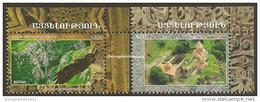 """MOUNTAINOUS KARABAKH / NAGORNO KARABAKH - EUROPA 2012 -TEMA ANUAL """" VISIT ..."""".- SERIE De 2 V. - DENTADOS - 2012"""