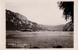 ORSOVA / SHIP On DANUBE : VAPORUL Č.S.D. LABE în CAZANE - CARTE VRAIE PHOTO / REAL PHOTO POSTCARD ~ 1930 - RRR ! (ac776) - Rumänien