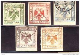 ALBANIE / SHQIPENIA. 1921  Used - Albanien