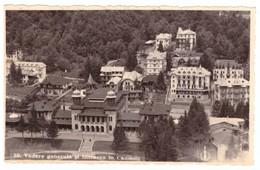 Romania Slanic Moldova Vedere Generala In Intrarea In Cazinou 1940 - Rumänien