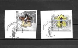 3582 3583  OBL Y & T 100 Eme Anniversaire Tour De France  Cachet Paris  « Oblitération Premier Jour » 15B/59 - France