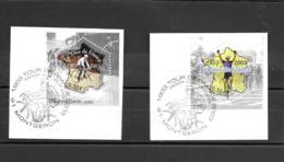 3582 3583  OBL Y & T 100 Eme Anniversaire Tour De France  Cachet Montgeron  « Oblitération Premier Jour » 15B/59 - France