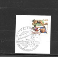 3577  OBL Y & T Timbre Pour Vacances    Cachet Canet-En-Roussillon  « Oblitération Premier Jour » 15B/59 - France
