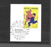 """3556  OBL Y & T Art De L'affiche œuvre De """"Raymond Savignac""""    Cachet Paris  « Oblitération Premier Jour » 15B/59 - France"""