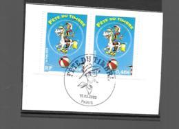 3546  OBL Y & T Lucky Luke   Cachet Paris « Oblitération Premier Jour » 15B/59 - France