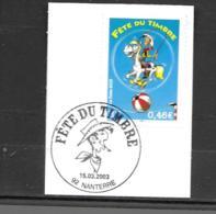 3546  OBL Y & T Lucky Luke   Cachet Nanterre  « Oblitération Premier Jour » 15B/59 - France