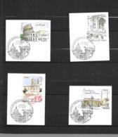 3527 3528 3529 3530  OBL Y & T   Capitales Europèennes Rome    Cachet Paris  « Oblitération Premier Jour » 15B/58 - France