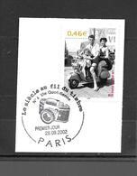 """3521  OBL    Y & T Un Super été  """"Vie Quotidienne""""  Cachet Paris « Oblitération Premier Jour »  15B/58 - France"""