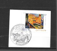 """3497  OBL    Y & T  """"le Phare De Collioure""""  Cachet Collioure « Oblitération Premier Jour »  15B/57 - France"""