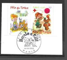 3467 3468   OBL    Y & T   Boule & Bill  Cachet Paris « Oblitération Premier Jour »  15B/57 - France