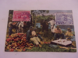 COSTA RICA / STAMPS/ VOYAGEE TIMBREE 1932  SHELLING COCOA - Costa Rica