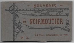 CARNET CPA 85 NOIRMOUTIER  23 VUES SUR 24 MARTIN BERTRAND EPICERIE PARISIENNE - Noirmoutier